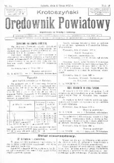 Krotoszyński Orędownik Powiatowy 1933.07.15 R.58 Nr55