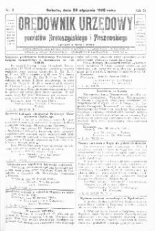 Orędownik Urzędowy Powiatów Krotoszyńskiego i Pleszewskiego 1928.01.28 R.55 Nr8
