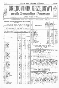 Orędownik Urzędowy Powiatów Krotoszyńskiego i Pleszewskiego 1928.02.04 R.55 Nr10