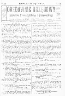 Orędownik Urzędowy Powiatów Krotoszyńskiego i Pleszewskiego 1928.05.12 R.55 Nr38