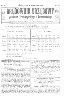 Orędownik Urzędowy Powiatów Krotoszyńskiego i Pleszewskiego 1928.05.16 R.55 Nr39