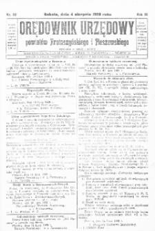 Orędownik Urzędowy Powiatów Krotoszyńskiego i Pleszewskiego 1928.08.04 R.55 Nr62