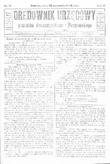 Orędownik Urzędowy Powiatów Krotoszyńskiego i Pleszewskiego 1928.09.22 R.55 Nr76