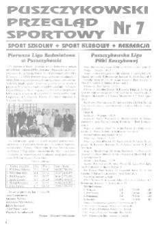Puszczykowski Przegląd Sportowy Nr7