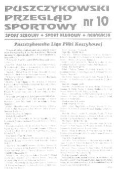 Puszczykowski Przegląd Sportowy Nr10