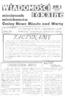 Wiadomości Lokalne 1990 Nr1