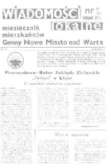 Wiadomości Lokalne 1991 R.2 Nr11(15)
