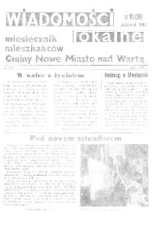 Wiadomości Lokalne 1992 R.3 Nr10(26)