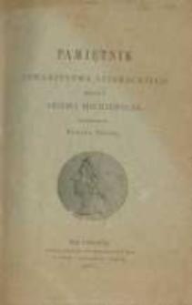 Pamiętnik Towarzystwa Literackiego Imienia Adama Mickiewicza. 1887 R.1
