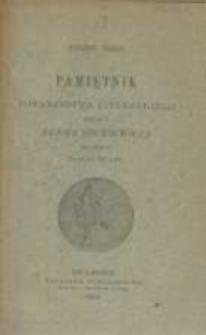 Pamiętnik Towarzystwa Literackiego Imienia Adama Mickiewicza. 1890 R.4