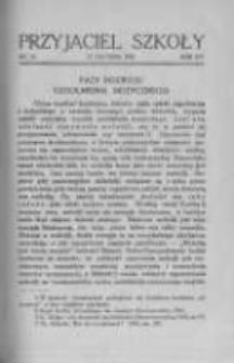 Przyjaciel Szkoły. 1935 R.14 nr20