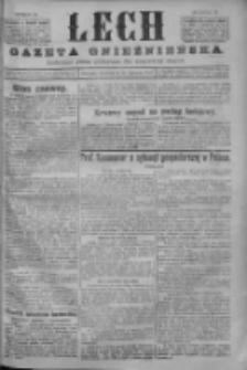 Lech. Gazeta Gnieźnieńska: codzienne pismo polityczne dla wszystkich stanów 1926.01.14 R.28 Nr10
