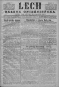 Lech. Gazeta Gnieźnieńska: codzienne pismo polityczne dla wszystkich stanów 1926.02.27 R.28 Nr47