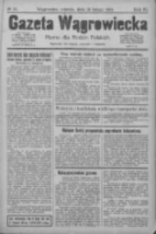 Gazeta Wągrowiecka: pismo dla rodzin polskich 1924.02.19 R.4 Nr22