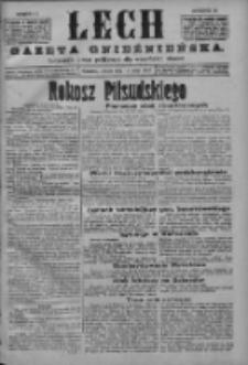 Lech. Gazeta Gnieźnieńska: codzienne pismo polityczne dla wszystkich stanów 1926.05.15 R.28 Nr111
