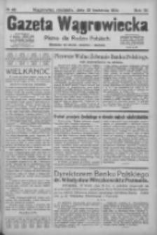 Gazeta Wągrowiecka: pismo dla rodzin polskich 1924.04.20 R.4 Nr48