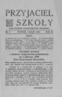 Przyjaciel Szkoły. 1930 R.9 nr9