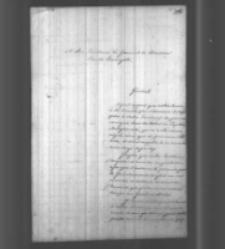 Kownacki do Władysława Zamoyskiego. Toulouse 1856 r.