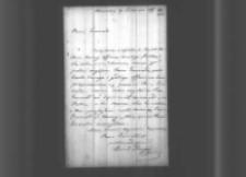 Edward Lange do Władysława Zamoyskiego. List z 19 XI 1855 r.