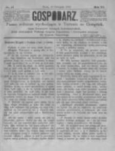 Gospodarz. 1882.11.23 R.11 nr47
