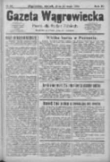 Gazeta Wągrowiecka: pismo dla rodzin polskich 1924.05.20 R.4 Nr60