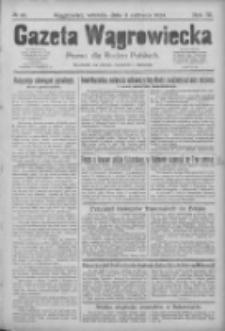 Gazeta Wągrowiecka: pismo dla rodzin polskich 1924.06.03 R.4 Nr66
