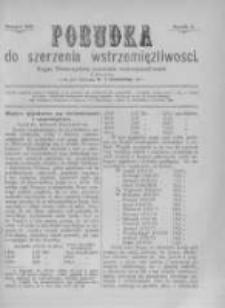 Pobudka Do Szerzenia Wstrzemięźliwości. 1895 R.5 wrzesień