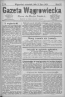 Gazeta Wągrowiecka: pismo dla rodzin polskich 1924.07.31 R.4 Nr91
