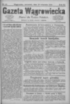 Gazeta Wągrowiecka: pismo dla rodzin polskich 1924.09.25 R.4 Nr115