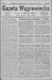 Gazeta Wągrowiecka: pismo dla rodzin polskich 1924.10.28 R.4 Nr129