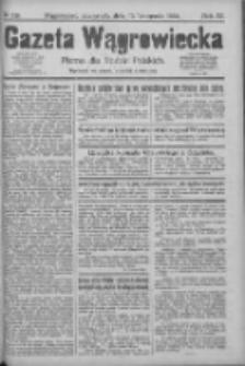 Gazeta Wągrowiecka: pismo dla rodzin polskich 1924.11.13 R.4 Nr136