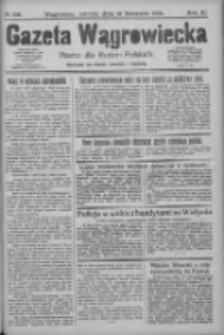 Gazeta Wągrowiecka: pismo dla rodzin polskich 1924.11.18 R.4 Nr138