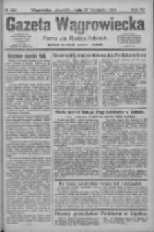 Gazeta Wągrowiecka: pismo dla rodzin polskich 1924.11.27 R.4 Nr142