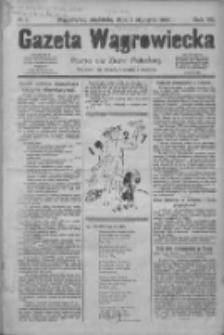 Gazeta Wągrowiecka: pismo dla ziemi pałuckiej 1927.01.02 R.7 Nr1