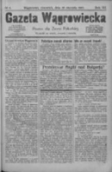 Gazeta Wągrowiecka: pismo dla ziemi pałuckiej 1927.01.20 R.7 Nr9