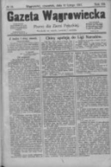 Gazeta Wągrowiecka: pismo dla ziemi pałuckiej 1927.02.10 R.7 Nr18