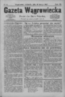 Gazeta Wągrowiecka: pismo dla ziemi pałuckiej 1927.02.20 R.7 Nr22