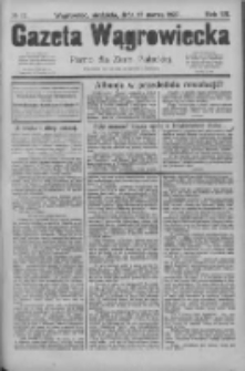 Gazeta Wągrowiecka: pismo dla ziemi pałuckiej 1927.03.27 R.7 Nr37
