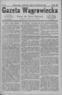 Gazeta Wągrowiecka: pismo dla ziemi pałuckiej 1927.04.10 R.7 Nr43