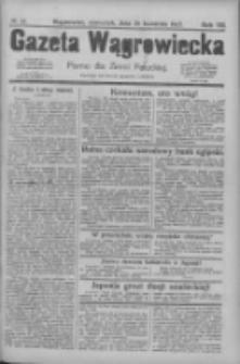 Gazeta Wągrowiecka: pismo dla ziemi pałuckiej 1927.04.28 R.7 Nr50