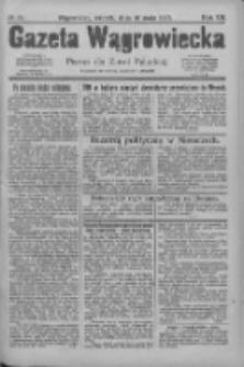 Gazeta Wągrowiecka: pismo dla ziemi pałuckiej 1927.05.10 R.7 Nr55