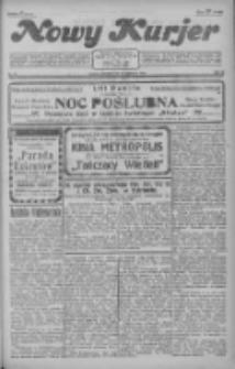 Nowy Kurjer 1928.01.31 R.39 Nr25