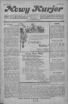 Nowy Kurjer 1928.01.01 R.39 Nr1