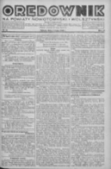 Orędownik na powiaty nowotomyski i wolsztyński 1938.05.07 R.19 Nr52