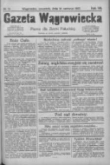 Gazeta Wągrowiecka: pismo dla ziemi pałuckiej 1927.06.16 R.7 Nr70