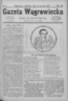 Gazeta Wągrowiecka: pismo dla ziemi pałuckiej 1927.06.26 R.7 Nr74