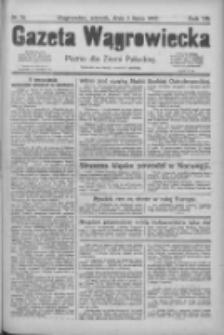 Gazeta Wągrowiecka: pismo dla ziemi pałuckiej 1927.07.05 R.7 Nr78