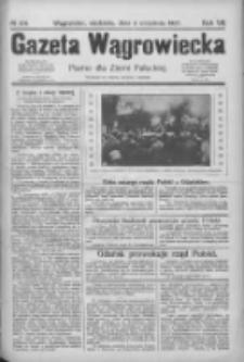 Gazeta Wągrowiecka: pismo dla ziemi pałuckiej 1927.09.04 R.7 Nr104