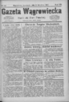 Gazeta Wągrowiecka: pismo dla ziemi pałuckiej 1927.09.08 R.7 Nr106