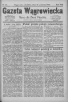 Gazeta Wągrowiecka: pismo dla ziemi pałuckiej 1927.09.11 R.7 Nr107